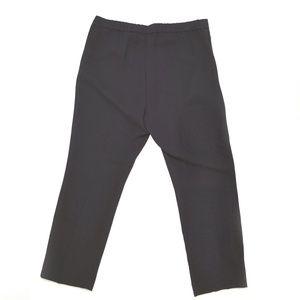 Theory Pants - THEORY New Basic Black Crepe Pull On Pant Size 8